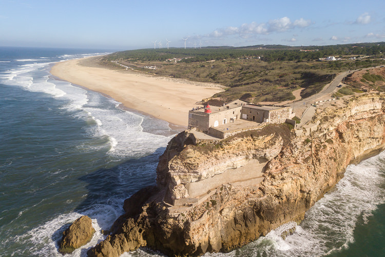 Portugal Realty Praia do Norte Nazare North Canyon