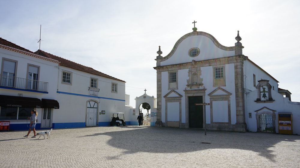 Misericordia Church Pederneira in Nazare Silver Coast Portugal 2