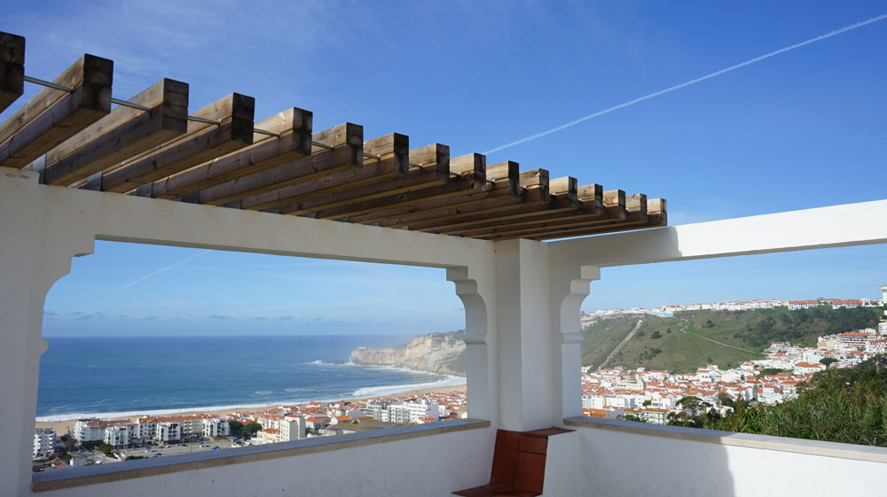 Viewpoint Pederneira in Nazare Silver Coast Portugal 1