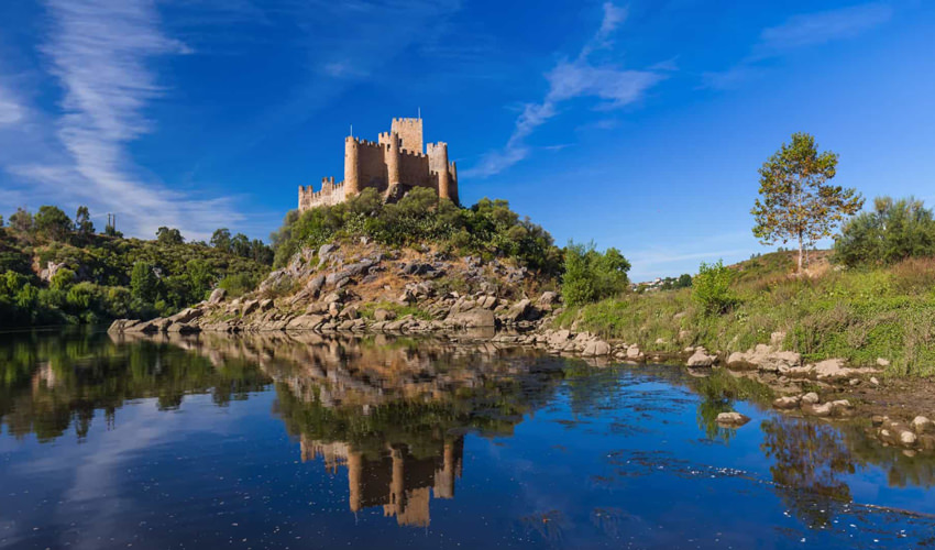 Portugal Realty Almourol Castle Portugal
